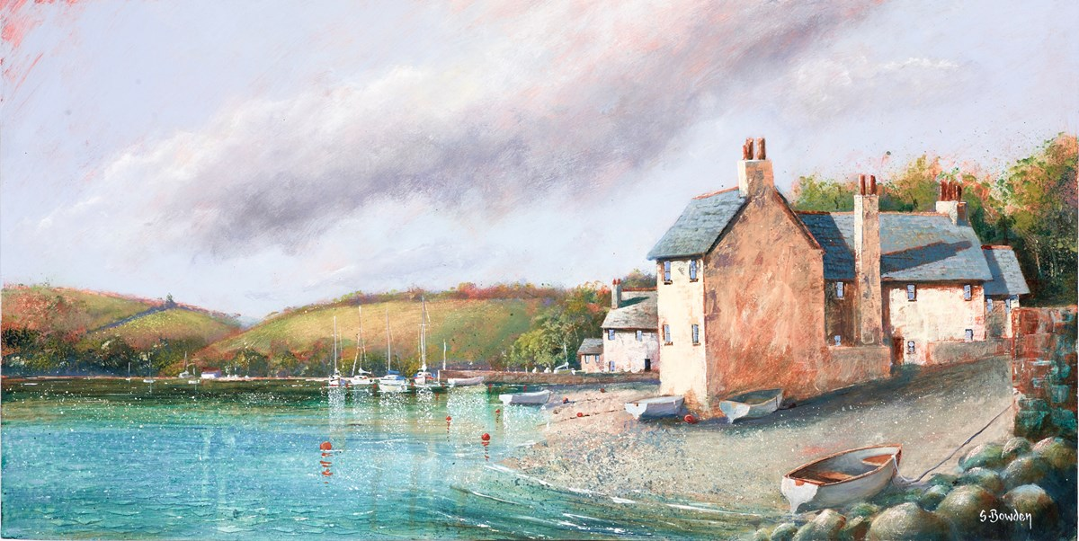 The Navigators House by steve bowden -  sized 24x12 inches. Available from Whitewall Galleries